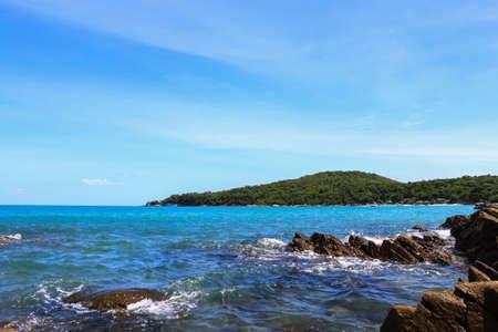 Beautiful tropical seascape.