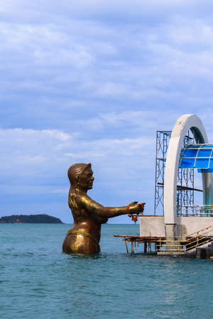 Woman Giant in Thai Literature on the sea in thailand