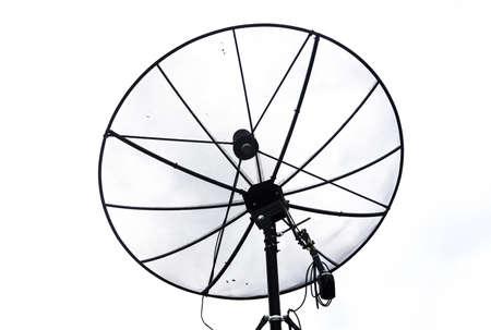 Satellite dish with white background Stock Photo - 15015456