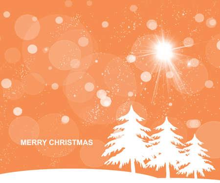 Nectarine orange Christmas background Stock Photo - 16925724