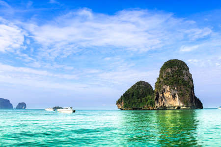 sea landscape Beautiful island in Thailand photo