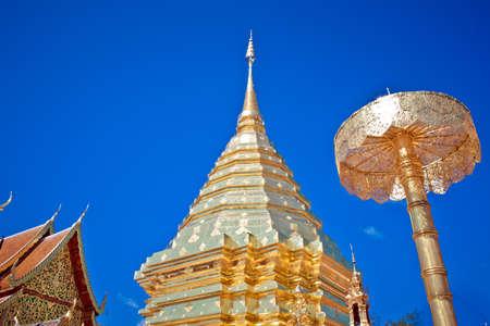 Doi Suthep Temple in Chiengmai, Thailand