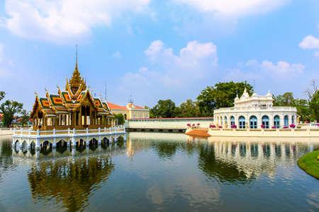 The Thai Royal Residence at Bang Pa-In Royal Palace in Ayutthaya, Thailand