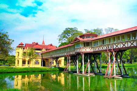chan: Sanam Chan Palace in Nakhon pathom, Thailand