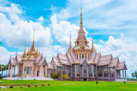korat: Thai temple landmark in Nakhon Ratchasima or Korat, Thailand