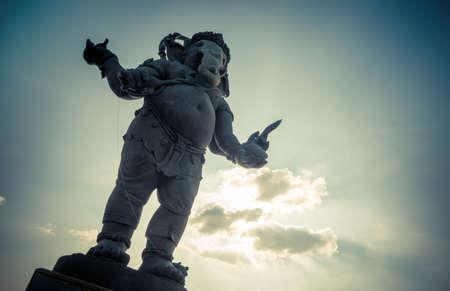 ganapati: Ganesha, Hindu God statue Stock Photo