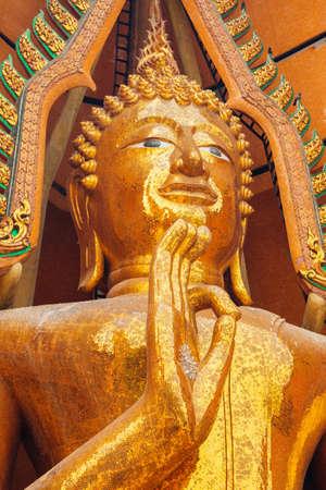 sue: buddha statue at Tham Sue Temple, Kanchanaburi, Thailand.