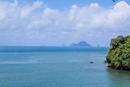 Tropical island and beach, Krabi, Thailand