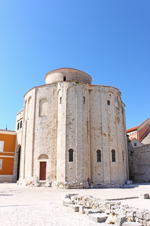Church of saint Donat in Zadar, Croatia from 9th century photo