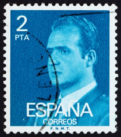 SPAIN - CIRCA 1976: a stamp printed in the Spain shows King Juan Carlos I, King of Spain, circa 1976 Stock Photo - 13337212