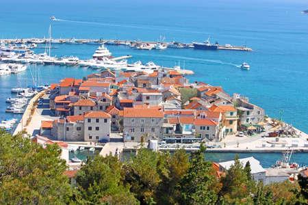 islet: Small fishing place Tribunj on Mediterranean islet