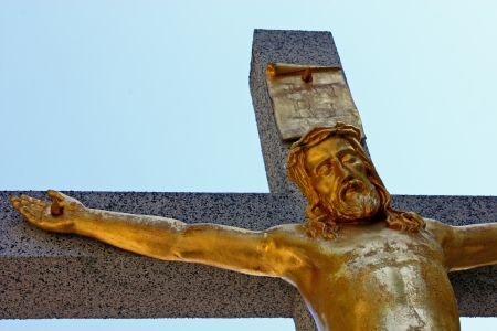 Jesus Christ crucified symbol of Gods eternal love