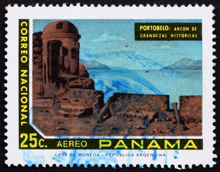 PANAMA - CIRCA 1972: a stamp printed in the Panama shows View of Portobelo, Panama, circa 1972