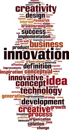 originalidad: Innovaci�n palabra concepto nube. Ilustraci�n vectorial Vectores