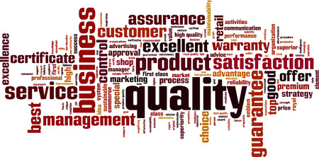 maintainability: Quality word cloud concept. Vector illustration