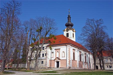 'saint nicholas': The parish church of Saint Nicholas, dating from the 17th century, Koprivnica, Croatia