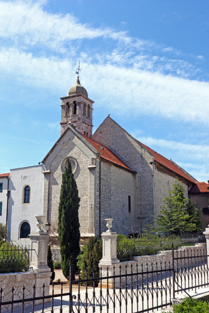 st francis: Church of St. Francis, was built in the second half of the 14th century, Sibenik, Croatia