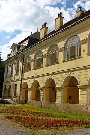 municipal: Pejacevic castle in Virovitica, home to Virovitica Municipal Museum, Croatia