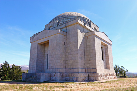 family church: The Most Holy Redeemer Church, Mestrovic family mausoleum made by Ivan Mestrovic
