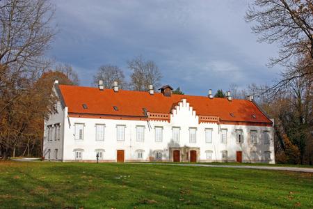 Novi Dvori Castle built in the 16th century, Zapresic, Croatia