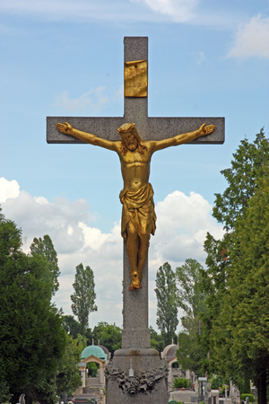 crucified: Jesus Christ crucified symbol of Gods eternal love