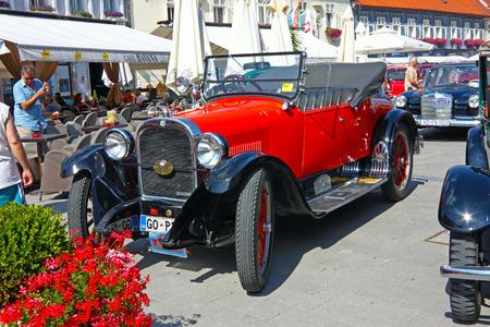 CROATIA SAMOBOR, 17 JULY 2011: Dodge Brothers Roadster classic car from 1924 , 14. Oldtimer Rally in Samobor, Croatia