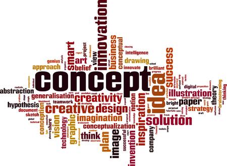 Concept word cloud concept. Vector illustration