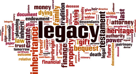 Legacy word cloud concept 免版税图像 - 87679275