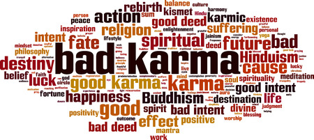 Image result for bad karma clipart