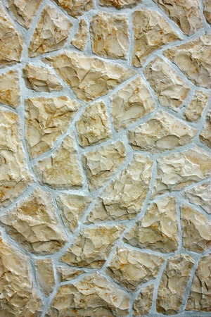 Closeup of a stone wall texture background