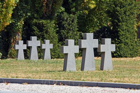 German cemetery from world war II, Mirogoj, Zagreb