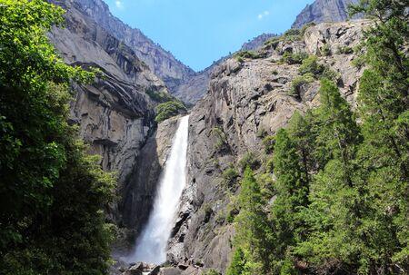 Falls in Yosemite National Park photo