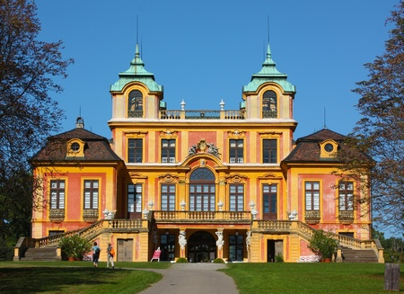 remodelled: Situated near Stuttgart and known as the Versailles of Swabia, Ludwigsburg was founded in 1704 on the initiative of Eberhard Ludwig, Duke of Wurttemberg  The Favorite hunting lodge was built between 1716 and 1723, but its interior has been remodelled in N