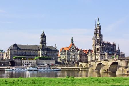 almost all: One of Germany's most beautiful cities, Dresden first gained its pre-eminence in the year 1485 The town blossomed during the 18th century when it became a cultural centre and acquired many magnificent buildings  Almost all of these, however, were comple Editorial