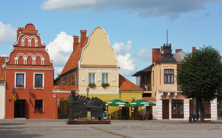 dainiai is one of the oldest cities in Lithuania. It is located 51 km  32 mi  north of Kaunas