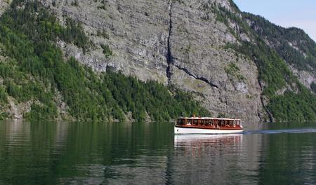 comprised: si para nigssee � un lago situato nel quartiere di Terra estrema a sud-est Berchtesgadener dello stato tedesco della Baviera, vicino al confine con le parti in Austria grandi sono costituiti dal Parco Nazionale di Berchtesgaden