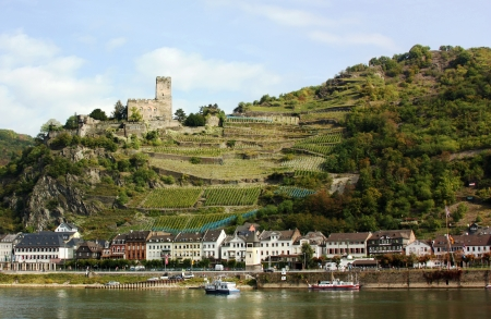 The Rhine valley is one of the most beautiful parts of Germany.