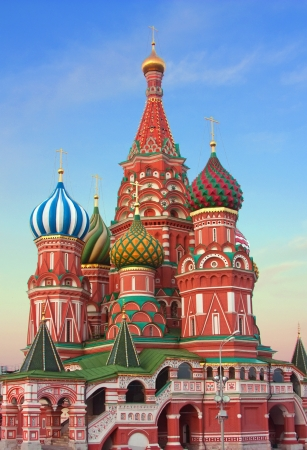 Saint Basils Cathedral,Moscow,Russia