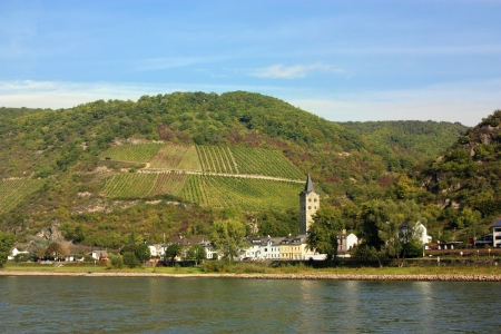 The Rhine valley is one of the most beautiful parts of Germany.  photo