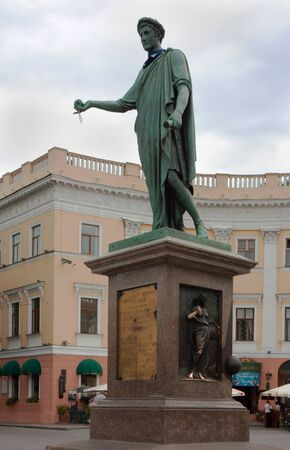 governor: In 1803, Richelieu became mayor, and from 1805 to 1814 Governor of Odessa Stock Photo