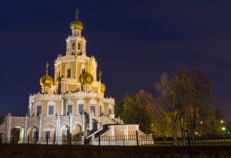 The church is constructed in 1689-1694 in style of the Moscow baroque