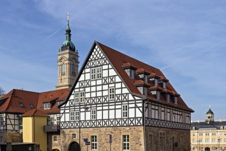 Art auf die Stadt Eisenach, Deutschland