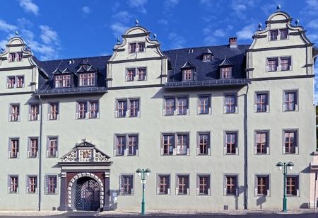 The Red Castle in Weimar has been constructed in 1574-1576