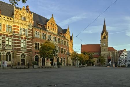 Wut Quadrat ist einer der größten in Erfurt