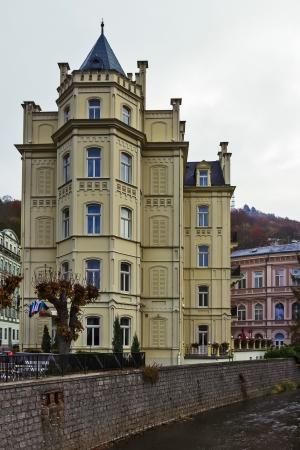 settles: hotel Pavlov settles down about park Dvorak in Karlovy Vary