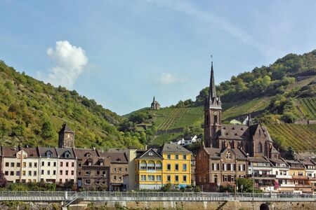 hause: The Rhine valley is one of the most beautiful parts of Germany   Stock Photo