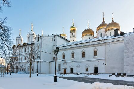 patriarchal: The patriarchal residence in Moscow Kremlin, Russia Editorial