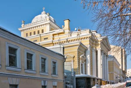 chóralne: Moscow Choral Synagogue jest główną synagogą w Rosji