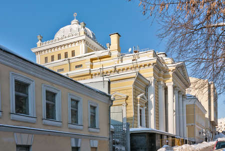 choral: The Moscow Choral Synagogue is the main synagogue in Russia