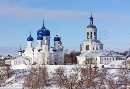 bogolyubovo: The Holy Bogoljubovo monastery is founded in 1158 by prince Andrey Bogolyubsky about a city Vladimir